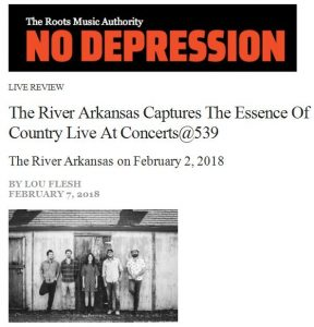 The River Arkansas - NO DEPRESSION Review